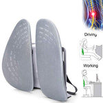 Lumbar Support Adjustable Backrest 3D Ergonomic  Lumbar Pillow