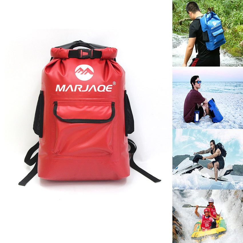 22L Dry Bag Waterproof Backpack Floating  Roll Top Compression Sack