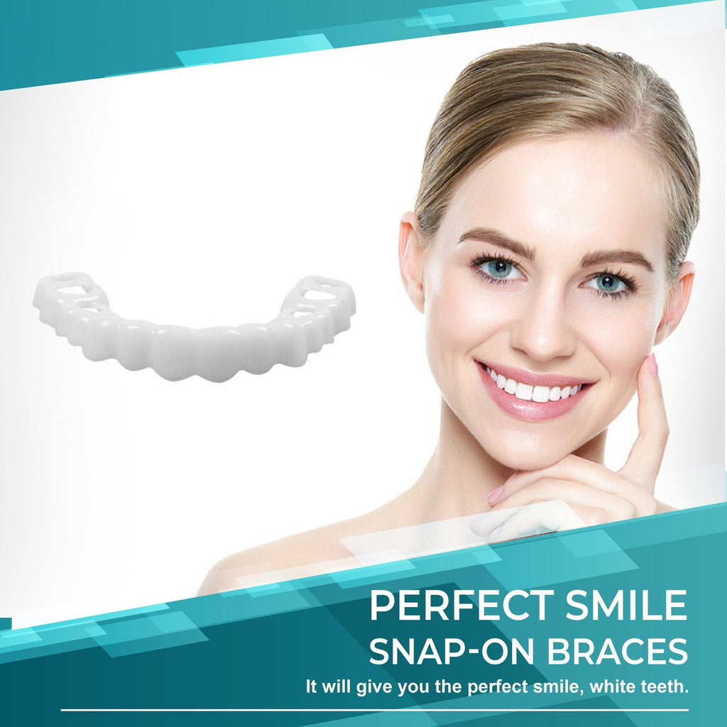 New generation Perfect Smile Snap-On Braces (Buy 2 Free Shipping)