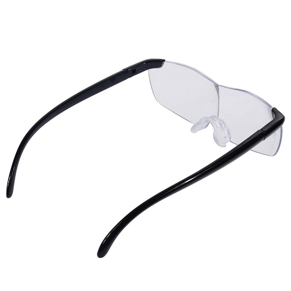 160 Degree Magnifying Glass 250 Degree Reading Glasses Work Frameless Eyewear