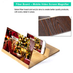 12 inch 3D Screen Amplifier HD Radiation Protection for Mobile Phone