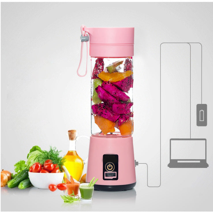 Portable Blender for Personal Use With Travel Cup – USB Mini Juicer