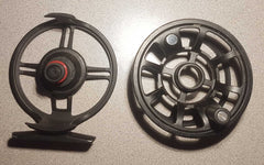 Disassembled Fly Fishing Reel