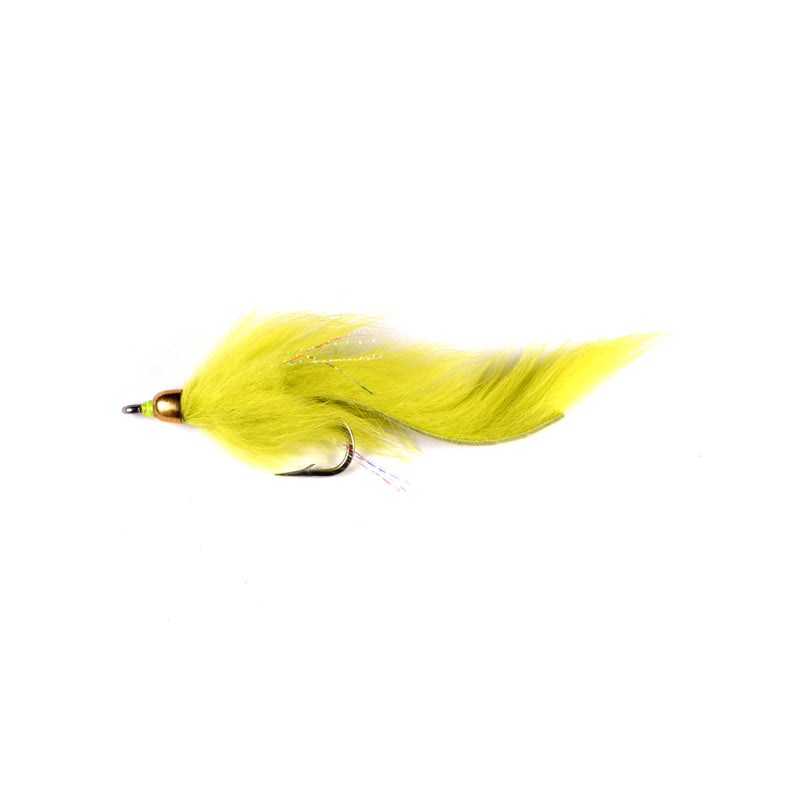 Chartreuse Rabbit Zonker