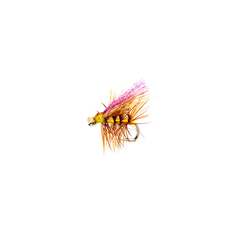 Never Sink Caddis Yellow