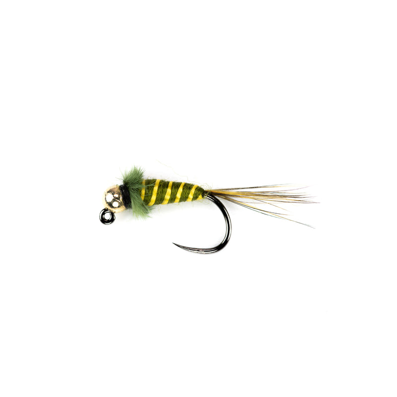Jig Head Olive Tungsten