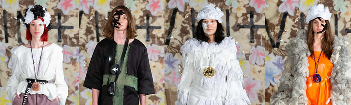 PATCH featured on the London Fashion Week Runway with Vin+ Omi