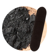 Activated charcoal patch strip