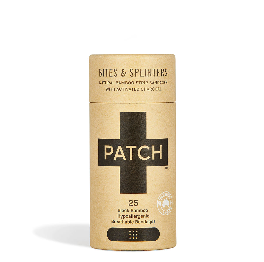 PATCH - Activated Charcoal Natural Bamboo Bandages