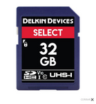 Memoria SD para fotografía - 32GB - Delkin Devices