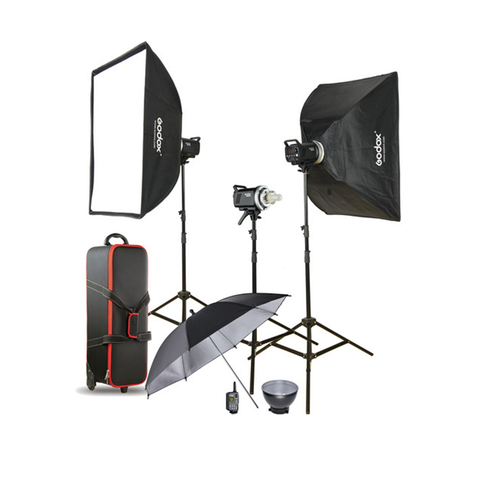 Kit completo de 3 Flash - MS-300-D