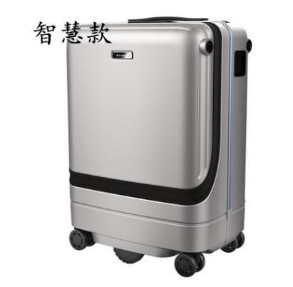 Smart suitcases trolleys automatically follow