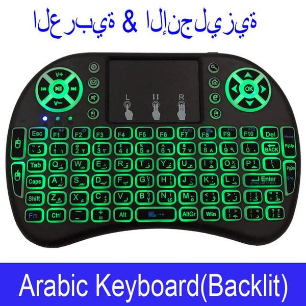 Keyboard Touchpad Remote Control