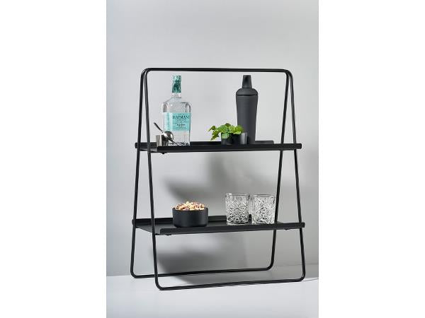 Standregal Zone Denmark A-Table Metall Bar schwarz - P U R V I D A
