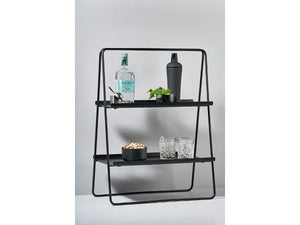 Standregal Zone Denmark A-Table Metall Bar schwarz - P U R V I D A Wohn- und Mode Accessoires