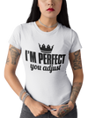 LADIES PERFECT/ADJUST T-SHIRT