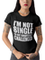 LADIES SINGLE T-SHIRT