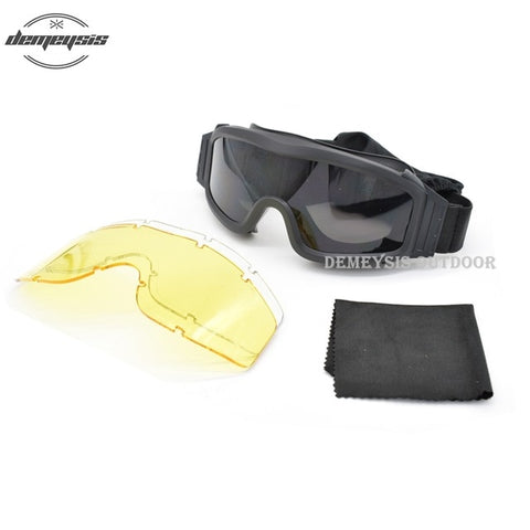 Military Airsoft Tactical Goggles - Mozils