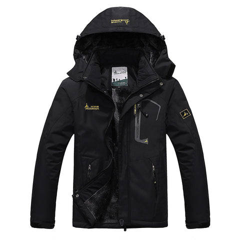 Winter Inner Fleece Waterproof Jacket - Mozils