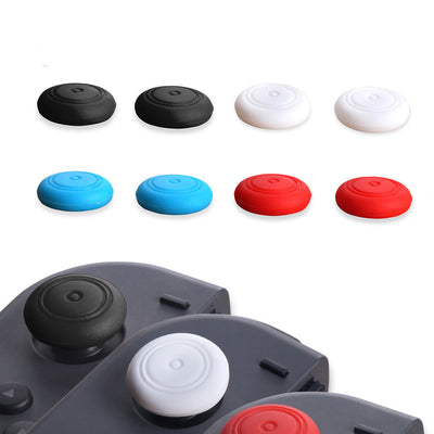 4 Pack Silicone Analog Stick Covers Grips for Nintendo Switch Joy Con Controller