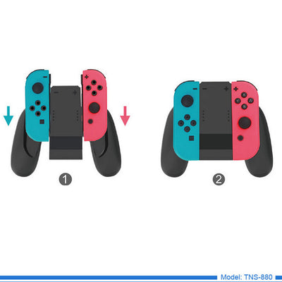 DOBE Charging Grip Dock USB Charger For Nintendo Switch Joy Con Controllers