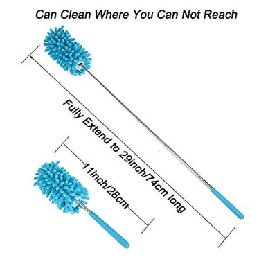 Microfiber Extendable Hand Dusters Washable Dusting Brush