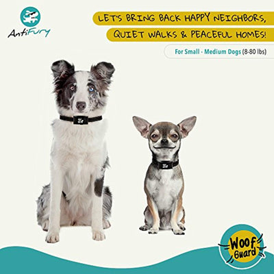 Rechargeable Bark Collar Small Dog to Medium Dog - Non Shock No Bark Waterproof Device