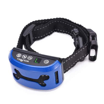 Small Rechargeable Dog Bark Collar Adjustable 7 Sensitivity Barking Control Training Collar