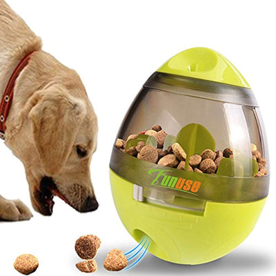 Increases IQ Mental Stimulation Pets Dog Cat Interactive Food Dispensing Ball