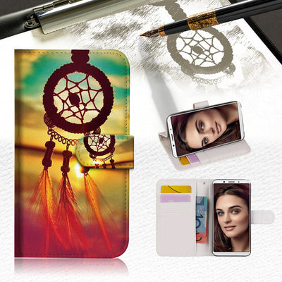 Dream Catcher Wallet Case Cover For OPPO R17 Pro -- A008