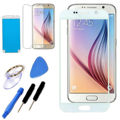 Samsung Galaxy S7 S7 Edge Front Outer Glass Lens Screen Kit Replacement Tools