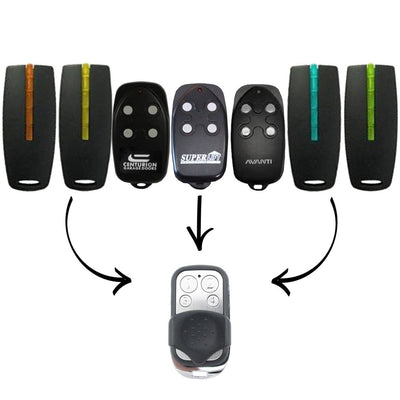 Avanti, Superlift, Centurion & TX4 Garage Door Gate Remote Control