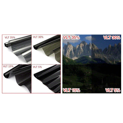 Window Tint Film 15% VLT Black Roll 76cm X 7m Car Auto House Home 760mm X 7m AU