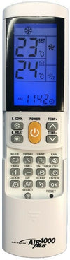 Universal Replacement ACTRONAIR Air Conditioner Remote Control Over 4000 Codes
