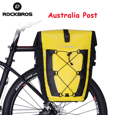 Bike Rear Pannier Bag Cycling Bicycle Seat Carrier Rack Pack Bag