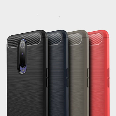 F OPPO R17 & R17 Pro Phone Shockproof Protective Shell TPU Cover Anti Knock Case