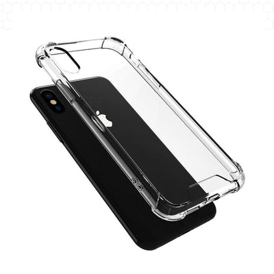 iPhone X XS XS Max XR Hybrid Case Crystal Clear Shockproof Cover