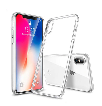 iPhone XS Max XR Case Ultra Crystal Clear Soft Thin COVER For Apple