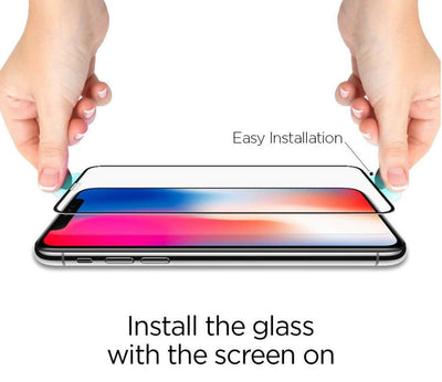 iPhone XS Max XR Tempered Glass Screen Protector True Full Cover Screen 9H