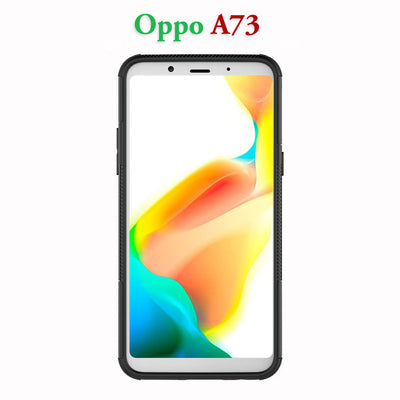 OPPO A73 / F5 Heavy Duty Shockproof Hybrid Kickstand Tough Case Cover