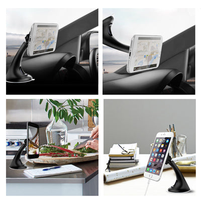 Universal Magnetic Car Mount Phone Holder Cradle Stand for iPhone Galaxy