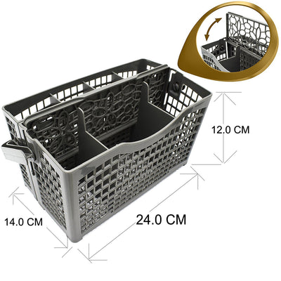 Dishwasher Cutlery Spoon Basket For Omega 672030550052 DW300XA DW601XA OFI802A