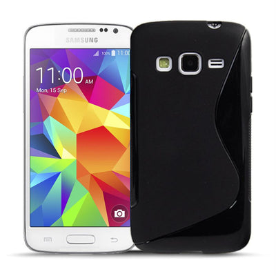 S Curved Gel Case For Samsung Galaxy Core Prime G360
