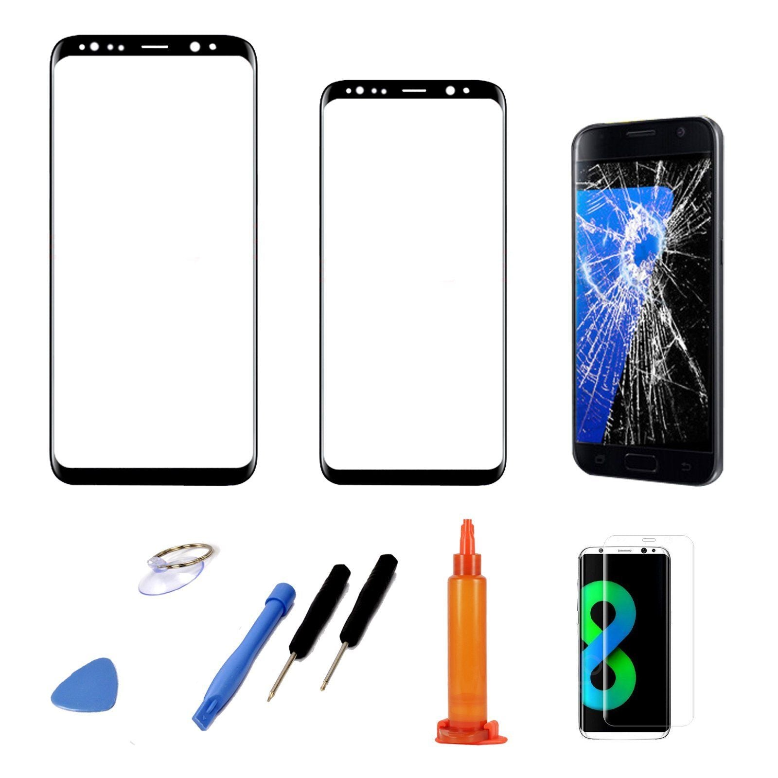 Galaxy s8 touch screen not working at all