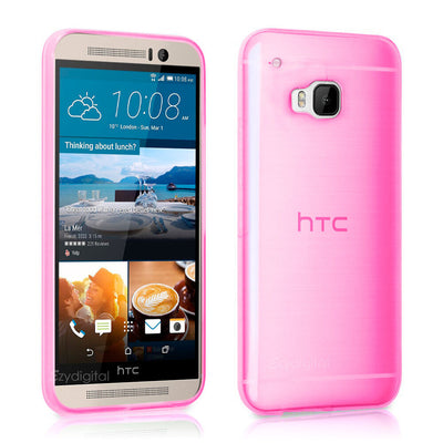Ultra Slim High Gloss Frosted Flexible TPU Gel case cover For NEW HTC ONE M9