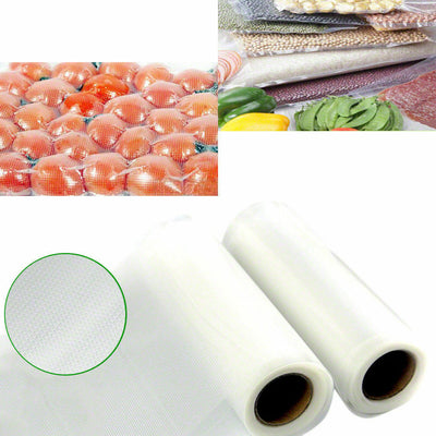4/6/8/10/20x Vacuum Food Sealer Roll Bags Saver Storage Commercial 3Mx28cm New