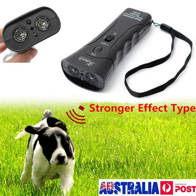 Ultrasonic Anti Bark Control Trainer Device Dog Stop Barking Training Repeller