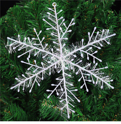 30 x White Snowflakes Ornaments Christmas Tree Decorations Home Festival Party