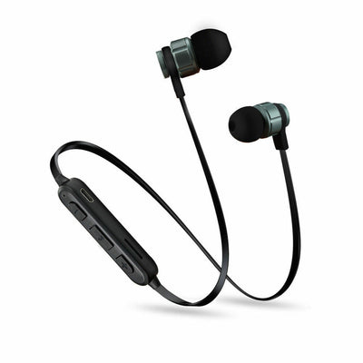 Sweatproof Wireless Bluetooth Earphones Headphones Sport Gym For iPhone Samsung