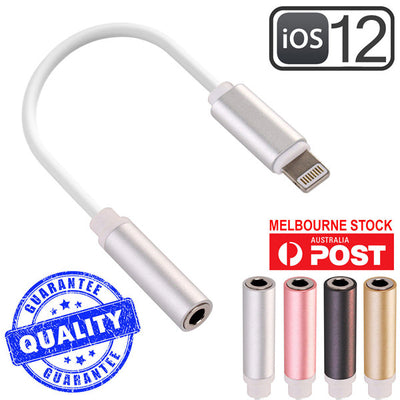 3.5mm AUX Headphone Jack Adapter for iPhone 7 8 X Plus Lightning to Audio Cable